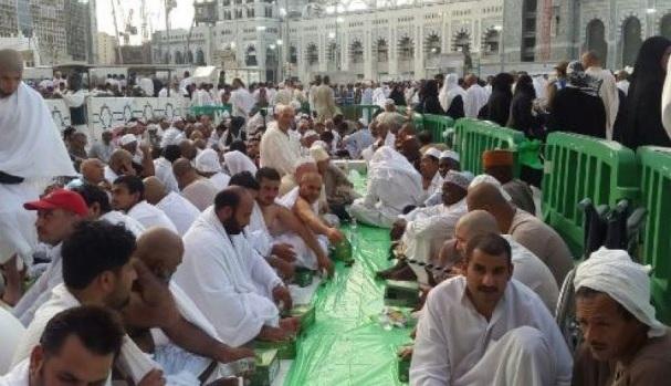 perayaan lebaran di Arab Saudi
