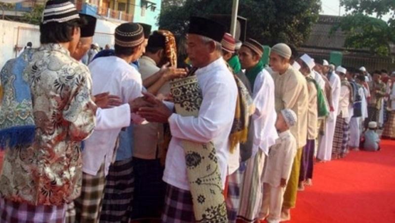 perayaan idul fitri di Indonesia